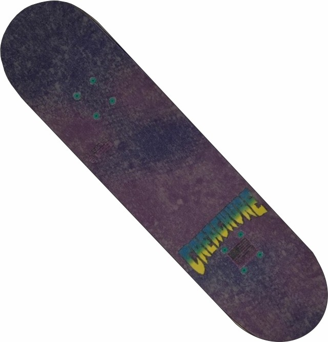 Skate Maple Creature Montado Completo Profissional Moska Traxart BS Roxo