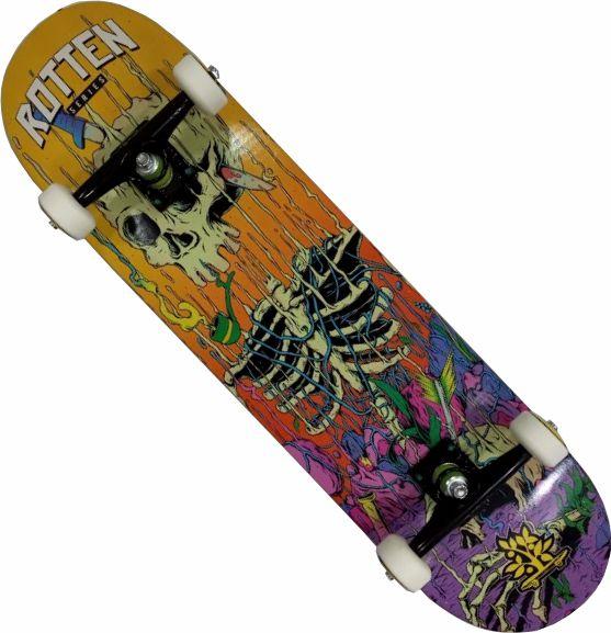 Skate Maple Montado Completo Profissional Wood Next Stick Abec 13