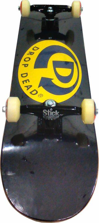 Skate Montado Completo Drop Dead Classic/Abec 13/Stick/Parts