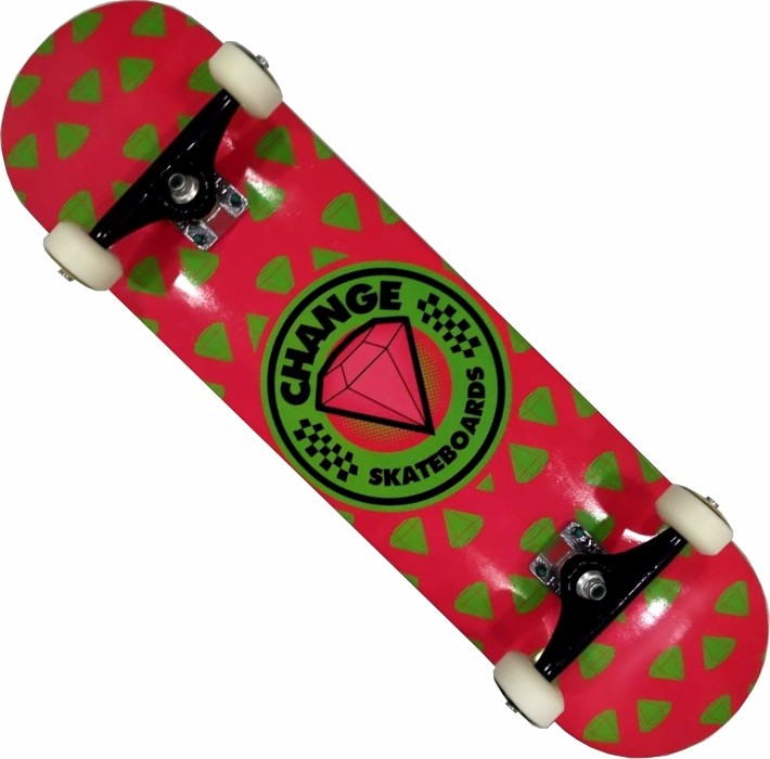Skate Montado Completo Pro II Change Stick Next Rosa