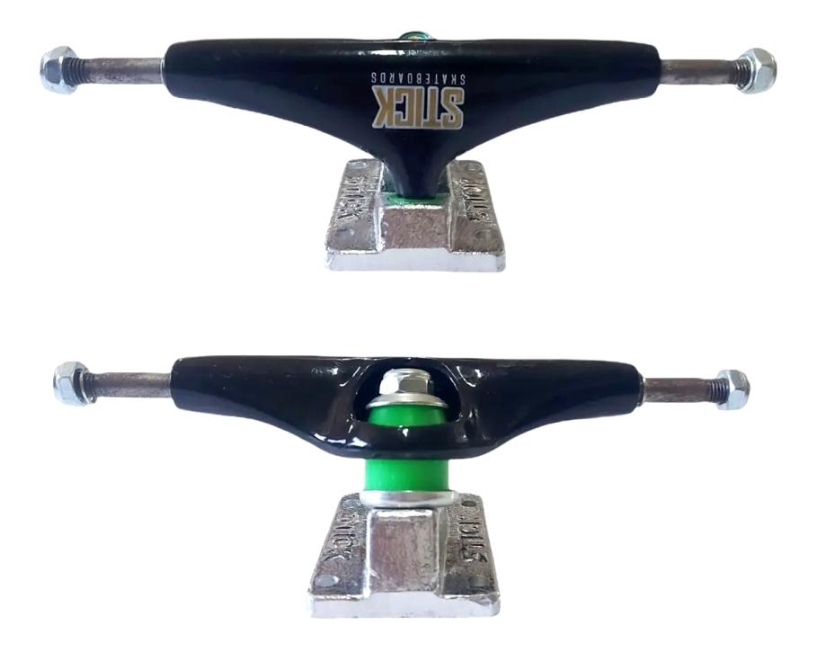 "Skate Montado Completo Pro Mezcla Next BS Stick 8.25"""