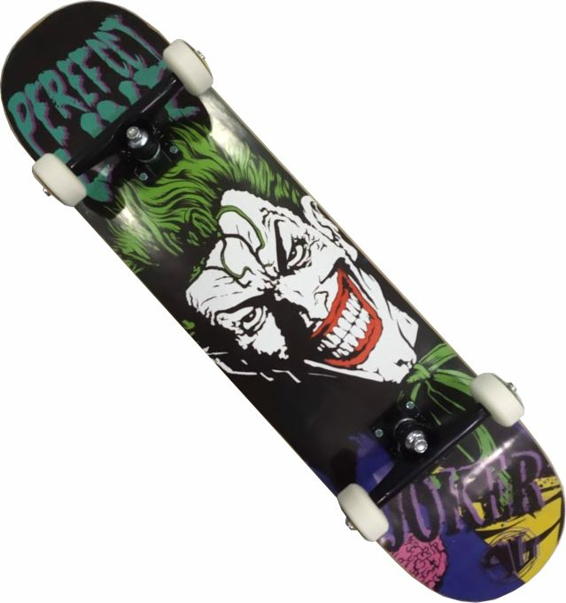 Skate Montado Completo Profissional Coringa Perfec line Next Stick Abec 13