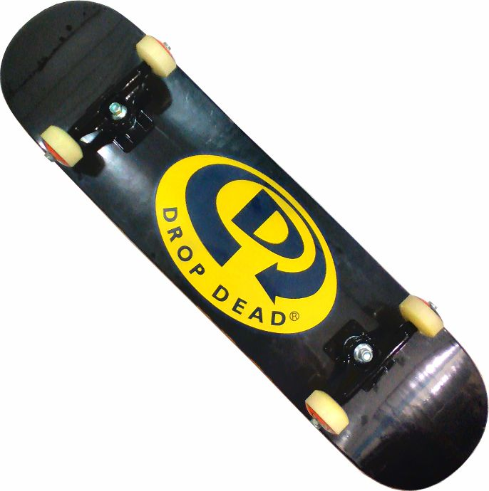 Skate Montado Completo Profissional Drop Dead Time