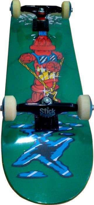 Skate Montado Completo Profissional Hidout/Parts