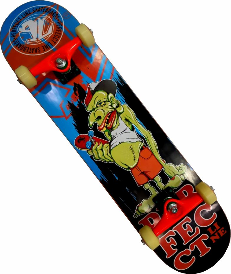Skate Montado Completo Profissional Perfect Line/Abec 11