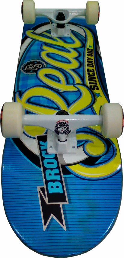 Skate Real Montado Completo Profissional Real/Moska/Crail/Mini Logo