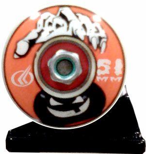 Skate Santa Cruz Montado Completo Atleta /Parts/Reds Bones