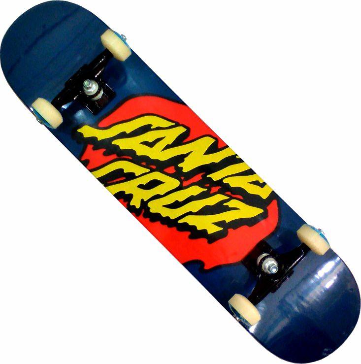 Skate Santa Cruz Montado Completo Dotlue/Parts/Oficina Abec 13