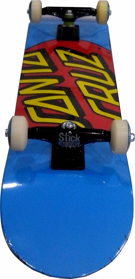 Skate Santa Cruz Montado Completo Drit Dot/Parts/Oficina Abec 13