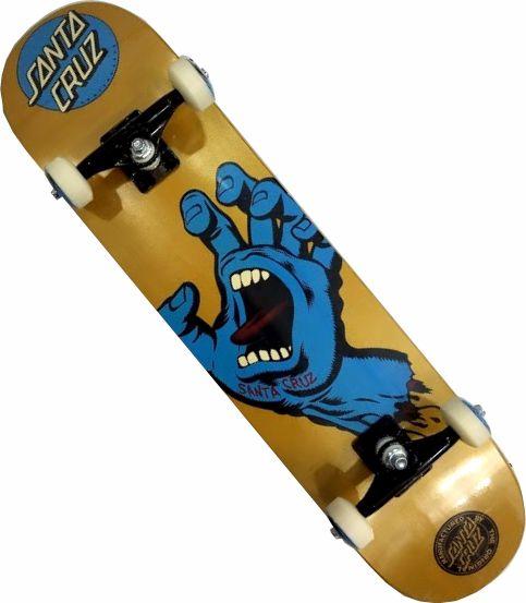 Skate Santa Cruz Montado Completo Hand/Parts/Abec 13
