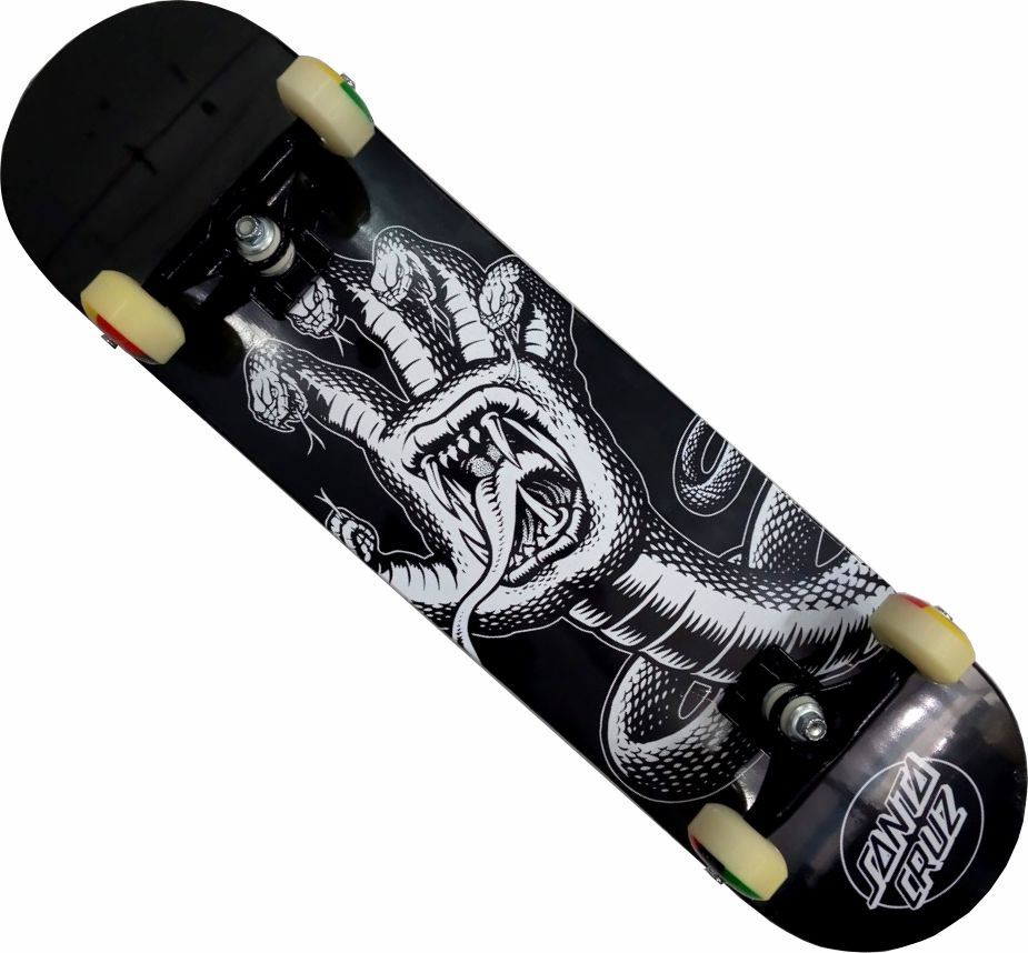 Skate Santa Cruz Montado Completo Hising/Parts/Abec 13