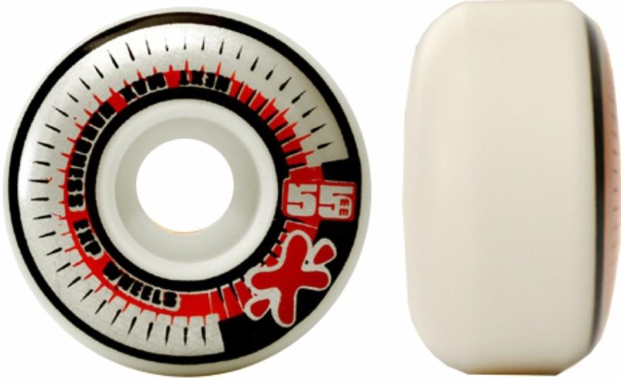 Skate Santa Cruz Montado Completo  Pro II Hand Next Visible Stick Abec 11 - Branco