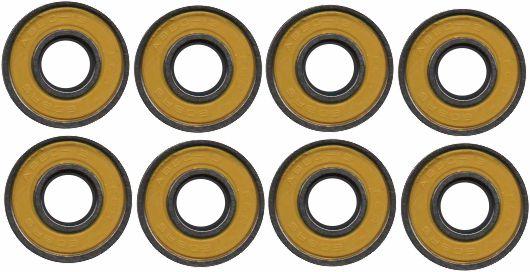 Skate Santa Cruz Montado Completo Profissional Ringed Dot Orange Next Stick Abec 13