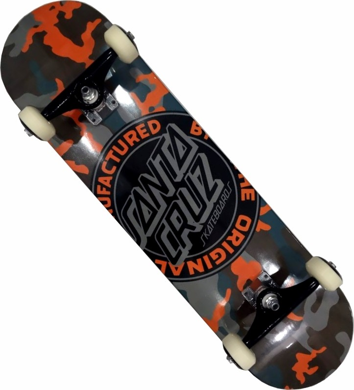 Skate Santa Cruz Montado Profissional Camo Next Stick FCR - Camuflado