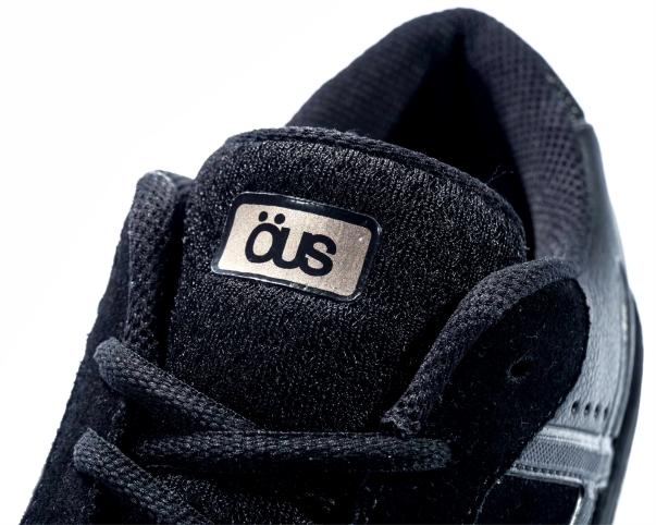 Tênis OUS Emergente All Black Gold Essencial Preto