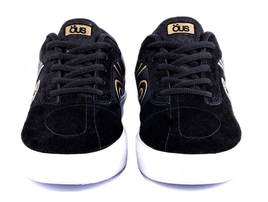 Tênis OUS Emergente Black Gold Essencial Preto