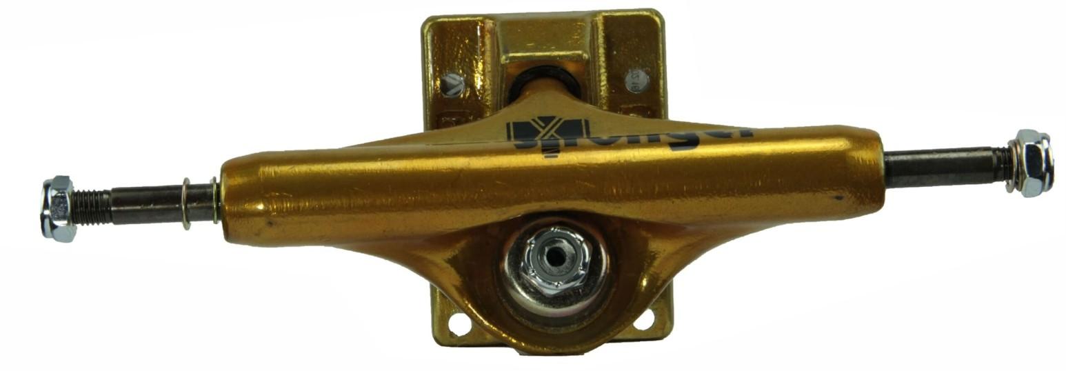 Truck Stronger de Skate Dourado