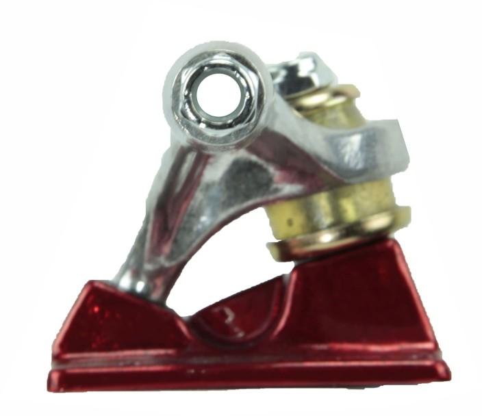 Truck Stronger de Skate Prata/Vermelho