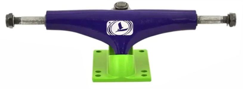 Truck Traxart Skate Roxo/Verde