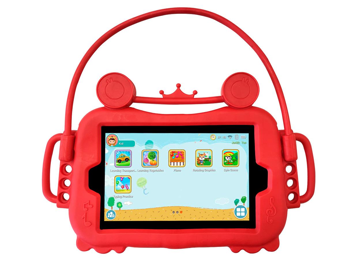 Capa Capinha Infantil Tablet 8 Polegadas Universal Kids Alça Com Suporte Veicular Para Todas Marcas