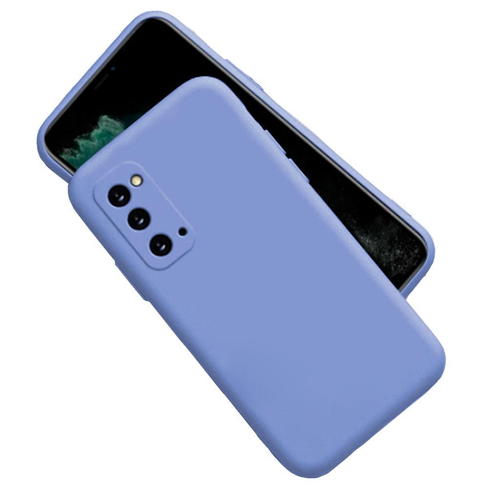 Capa Capinha Para Samsung Galaxy S20 Silicone Aveludada Anti Queda Impacto com Proteção da Câmera