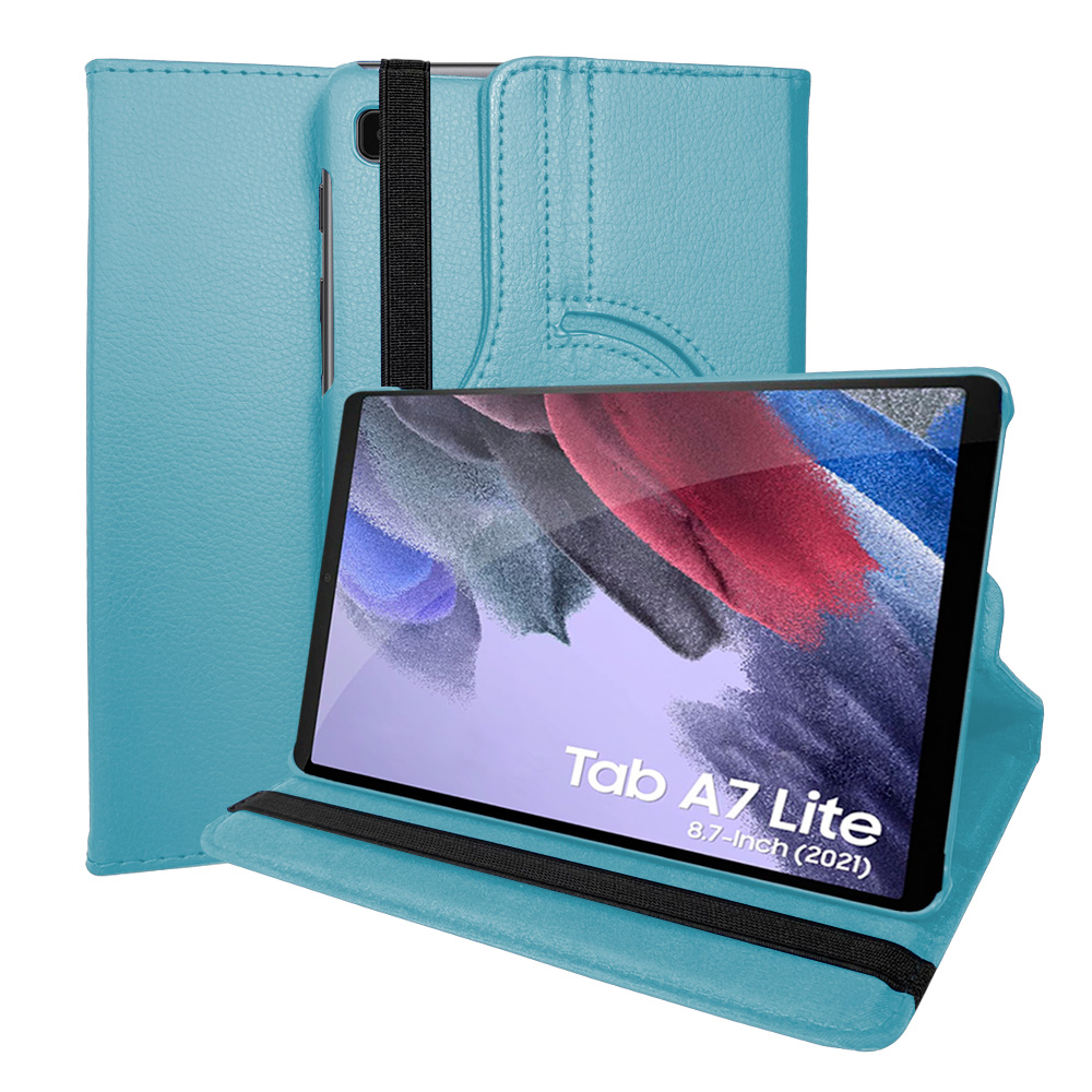 Capa Capinha Tablet Samsung Tab A7 Lite T220 T225 8.7 Polegadas Couro Giratória Inclinável Premium