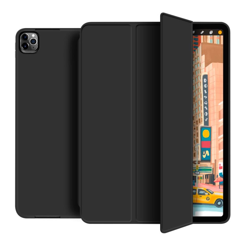Capa Case Ipad Pro 12.9 polegadas 2020 4ª Geração A2229 A2069 A2232 A2233 Smart High Premium Preta