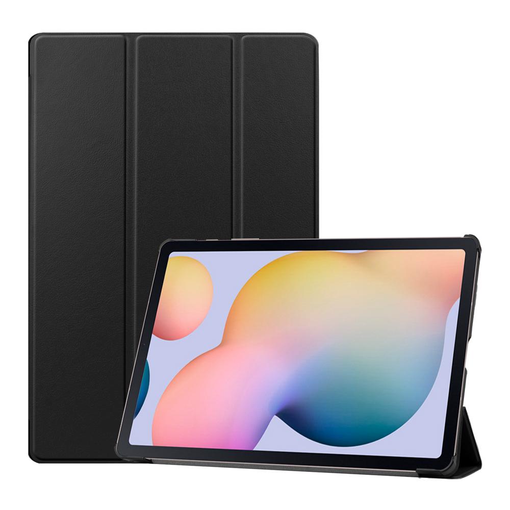 Capa Case Tablet Galaxy Tab S7 T875 11 Polegadas Smart Couro Magnética Premium Preta + Pelicula