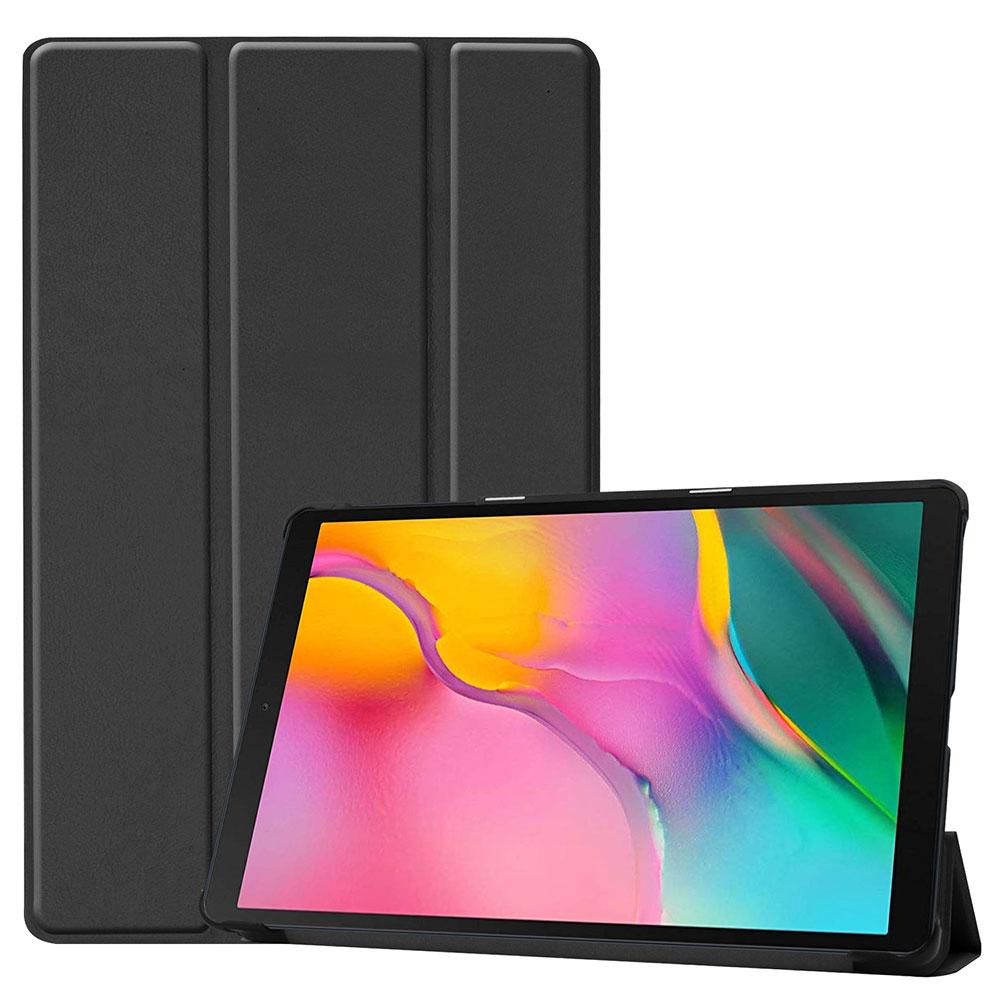Kit Capa Smart Tablet Galaxy Tab A7 T500 T505 Tela 10.4 Aveludada High Premium Case Preta + Pelicula