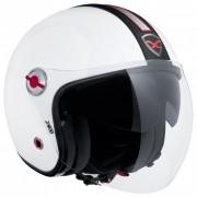 Capacete Nexx X70 Groovy Branco/Preto Tri-Composto - Aberto