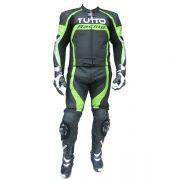 Macacão Tutto Moto Racing 2 peças Verde