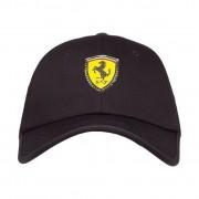 Boné Puma STYFR Ferrari Fanwear Baseball Cap (Preto)