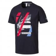 Camiseta BMW Graphic Puma Azul Oficial