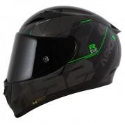Capacete LS2 FF323 Arrow R Techno Preto/Cinza/Verde