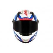 Capacete LS2 FF358 Draze Branco/Azul/Vermelho