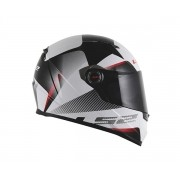 Capacete LS2 FF358 Tyrell Cinza