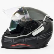 Capacete Nexx SX100 Super Speed Preto + Pinlock