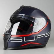 Capacete Nexx SX100 Superspeed Azul/Vermelho