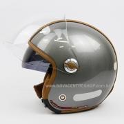 Capacete Nexx X70 Groovy Titanium Camel Tri-Composto - Aberto