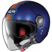 Capacete Nolan N21 Vivre Cayman Azul C/ Viseira Solar Interna (SÓ 60)- SUPEROFERTA!