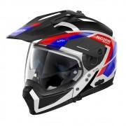 Capacete Nolan N70 2x - Grandes Alpes - Tricolor Fosco