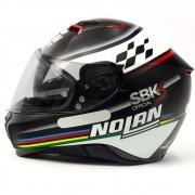 Capacete Nolan N87 Sbk (60) C/ Viseira Solar (Ganhe Pinlock)