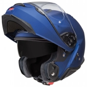 Capacete Shoei Neotec 2 Azul Fosco Escamoteável