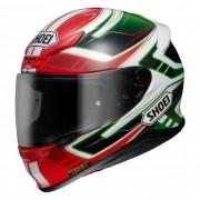 Capacete Shoei NXR Valkirie TC-4 Vermelho/Preto/Branco/Verde