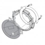 Flange Givi P/ fixação de bolsas tanklock GIVI BF23 YAMAHA (DVS MODELOS)