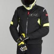 Jaqueta Spidi Flash H2Out Black/Yellow