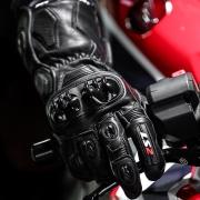 Luva LS2 Swift Racing - Preta