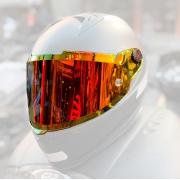Viseira Nexx XR2 Espelhada Vermelha/Laranja Redline