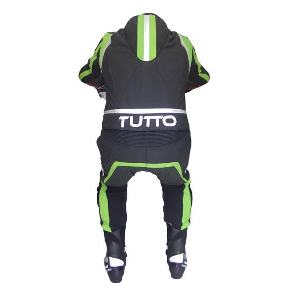 Macacão Tutto Moto Racing 2 peças Verde  - Nova Centro Boutique Roupas para Motociclistas