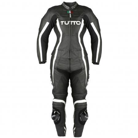 Macacão Tutto Moto Lady 2 peças (Feminina) - BRINDE Protetor de Coluna Tutto